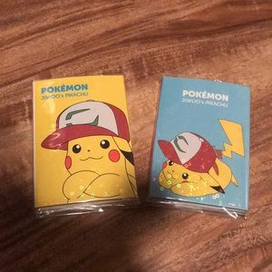 Pokémon pikachu sticky notes sets
